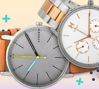 FASHION & SMART WATCHES: UP TO 70% OFF