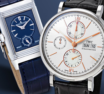 JAEGER LECOULTRE + IWC: UP TO 25% OFF