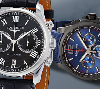 LONGINES: UP TO 34% OFF