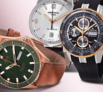 SWISS TIMEPIECES: UP TO 64% OFF