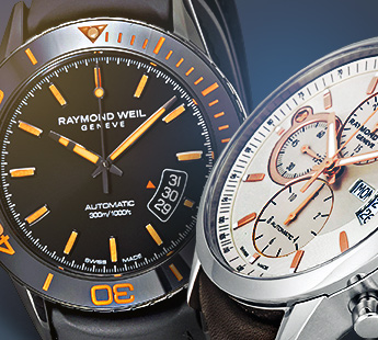 RAYMOND WEIL: UP TO 70% OFF