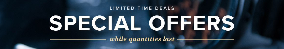 Special Offers Limited Time Deals